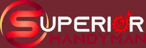 superior handyman logo white